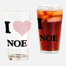 Unique I love noe Drinking Glass