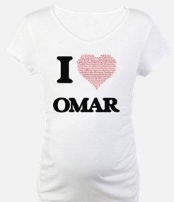 I Love Omar (Heart Made from Lov Shirt
