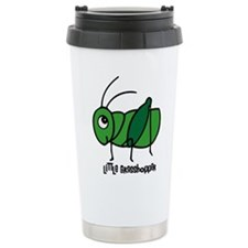 Little Grasshopper Travel Coffee Mug