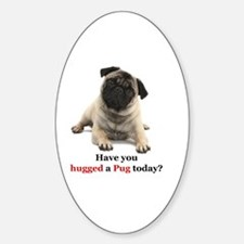 Cute Pug humor Decal