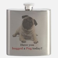 Cute Pug dog Flask