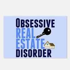 Funny Real Estate Postcards (Package of 8)