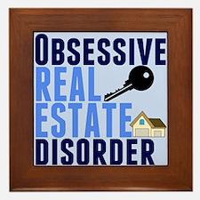 Funny Real Estate Framed Tile
