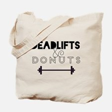 Deadlifts & Donuts Tote Bag