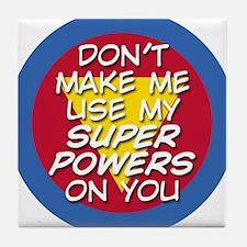 Super Powers 01 Tile Coaster