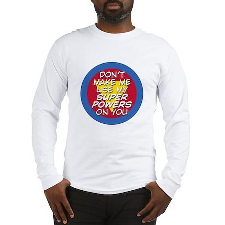 Super Powers 01 Long Sleeve T-Shirt