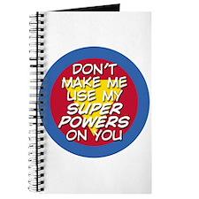 Super Powers 01 Journal