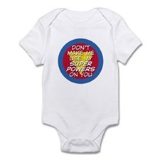 Super Powers 01 Infant Bodysuit