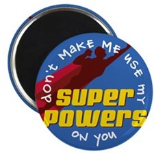 Super Powers 02 Magnet