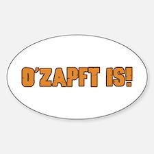 Humorous Oktoberfest Oval Stickers