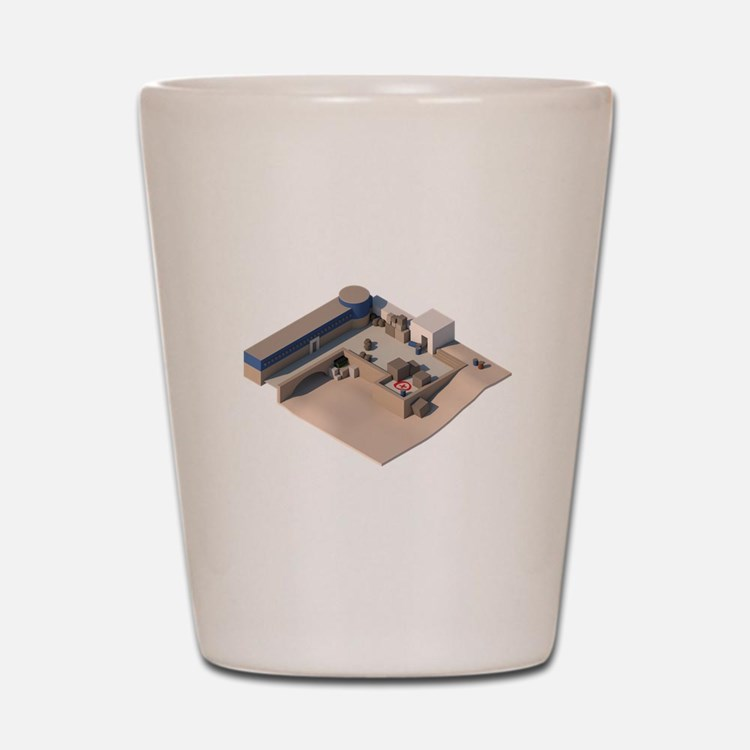 CS:GO de_dust2 A Site Shot Glass