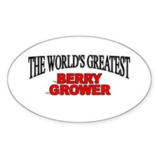 """"""" The World's Greatest Berry Grower"""" Decal"""