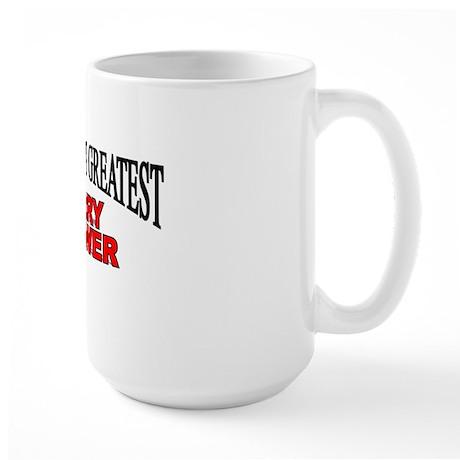 """ The World's Greatest Berry Grower"" Large Mug"