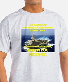 Unique Navy carriers T-Shirt