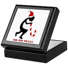 Ho-Ho-Pelli Tile Top Box Keepsake