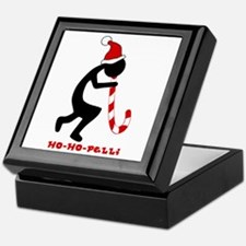 Ho-Ho-Pelli Tile Top Box Keepsake