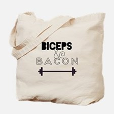 Biceps & Bacon Tote Bag