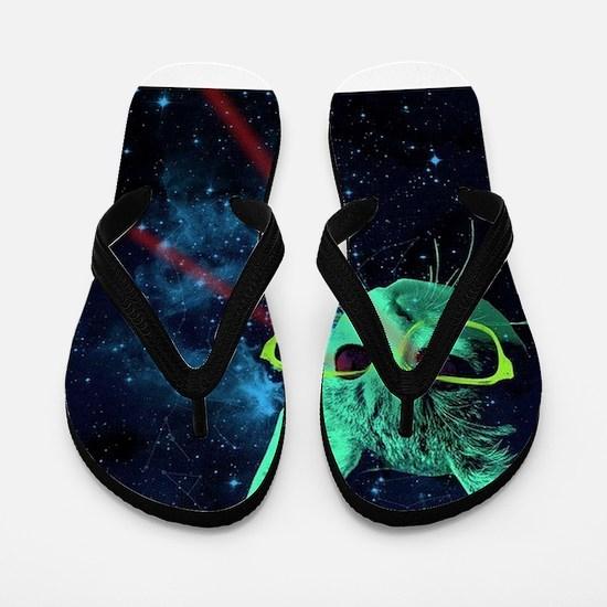 Funny Geek Flip Flops