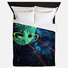 Cute Geek Queen Duvet