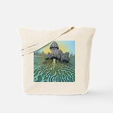 Unique Morel mushroom Tote Bag