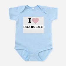 I Love Rigoberto (Heart Made from Love w Body Suit
