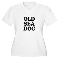 OLD SEA DOG - Plus Size T-Shirt
