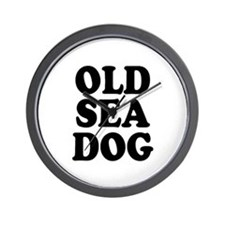OLD SEA DOG - Wall Clock
