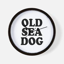 OLD SEA DOG - Wall Clock