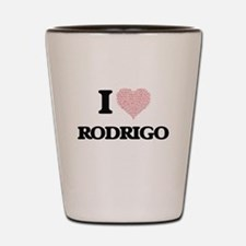 I Love Rodrigo (Heart Made from Love wo Shot Glass