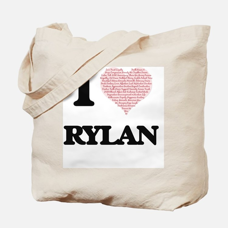 Cute I heart rylan Tote Bag