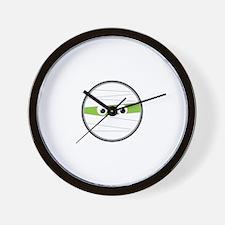 Mummy Eyes Wall Clock