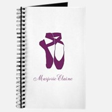 Team Pointe Ballet Orchid Personalize Journal