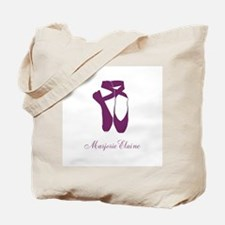 Team Pointe Ballet Orchid Personalize Tote Bag