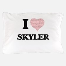 I Love Skyler (Heart Made from Love wo Pillow Case