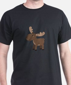 Cute Cartoon moose T-Shirt