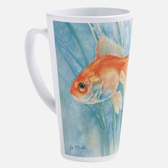 Unique Goldfish 17 oz Latte Mug