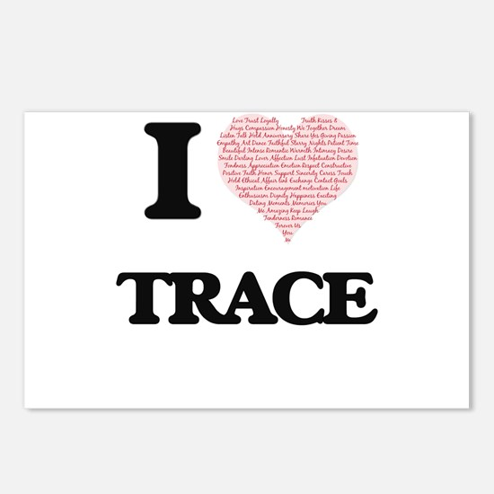 I Love Trace (Heart Made Postcards (Package of 8)