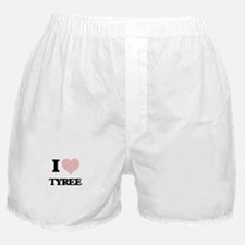 I Love Tyree (Heart Made from Love wo Boxer Shorts