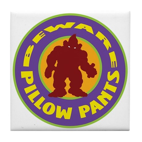 Pillow Pants Tile Coaster