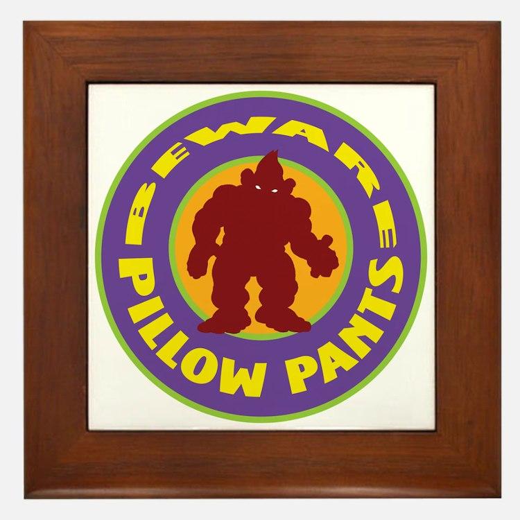 Pillow Pants Framed Tile
