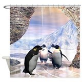 Penguin Shower Curtains