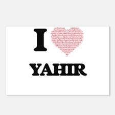 I Love Yahir (Heart Made Postcards (Package of 8)