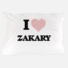 I Love Zakary (Heart Made from Love wo Pillow Case