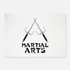 Martial Arts 5'x7'Area Rug