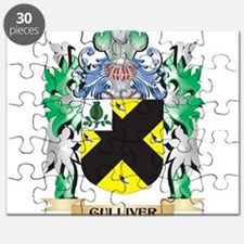 Gulliver Coat of Arms (Family Crest) Puzzle