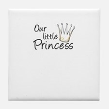 Our Little Princess Tile Coaster