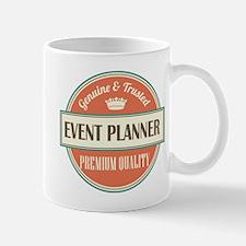 event planner vintage logo Mug