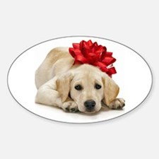Yellow Lab Puppy Decal