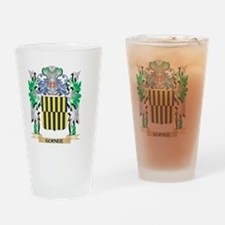 Gurnee Coat of Arms (Family Crest) Drinking Glass