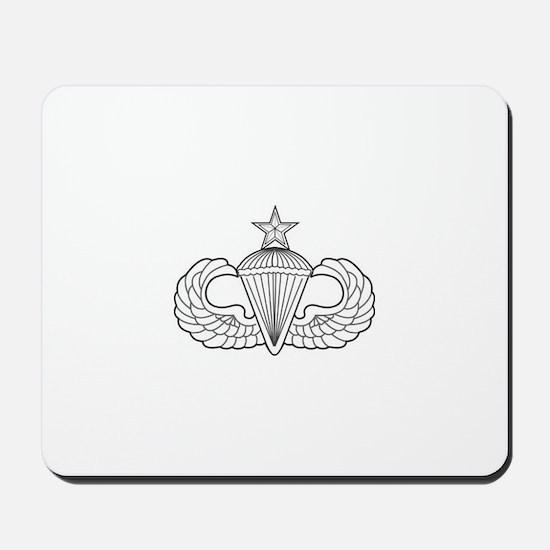 Airborne Senior Parachutist Wings Badge Mousepad